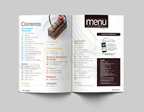 The Menu - magazine design