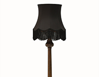LOTUS Floor Lamp   By KOKET