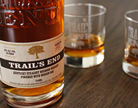 Packaging Design: Trail's End Bourbon