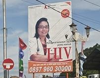 HIV Call Center Number I Billboard I Portrait