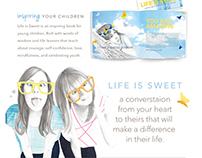Life is Sweet Website