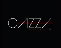 Papelaria e Logo - Cazza Beauty Lounge - Rio de Janeiro