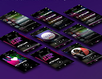 W HOTELS MUSIC PLAYER APP