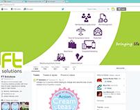 'FT Solutions Ltd' | Digital Branding (Twitter Banner)