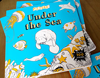 Under the Sea - Children's book