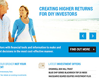 2020 Direct Invest website design