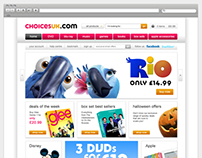 Choicesuk.com Branding & Website