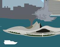 """City of Future"" (Illustration)"