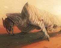 Martian Creature Design - Baan