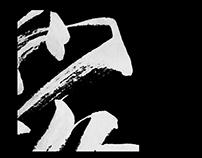 飛白藝試 Calligraphy
