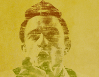 Typographic Portrait Series-Musicians