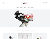 Ately - Portfolio & eCommerce HTML Template