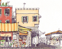 Venice Italy - Rialto Market