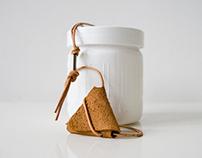 Folded Leather Purse (reversible)