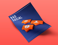 BAD SOCIAL PAPER CRAFT