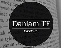 Daniam TF - Typeface