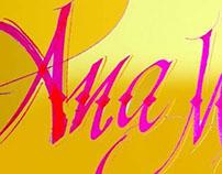 Album caligrafia - calligraphy