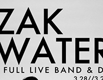 Zak Waters Las Vegas & SXSW Flyers