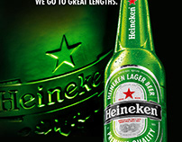 Heineken New Bottle Launch