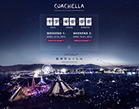 Coachella Splash Page