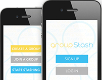 App Design | Group Stash