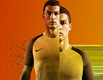 Nike China CR7 - Glitch Animation