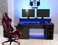 3D Gaming Desk