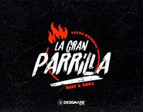 La Gran Parrilla Logo 2019