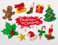 Plasticine Handmade Christmas set