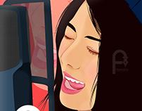my Vector Vexel Portrait Creation