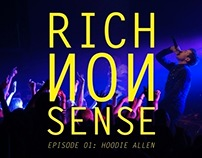 RICH NONSENSE Ep 01: Hoodie Allen