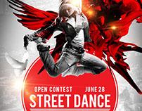 Pretentious Dance Contest Poster