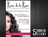 Flyer Design for Hair Salon