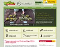 Vitazyme website redesign
