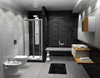 Bathroom Design in Katerini, Greece
