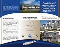 Tri-fold brochure for new affordable housing program