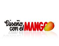 """Lettering """"Diseño con el mango"""""""