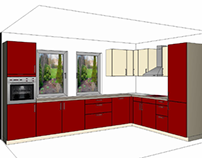 Kitchen's design
