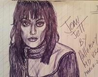 Joan Jett portrait by pallominy D50 C2 MD USA