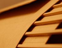 Model study of Renzo Piano's Parco Della Musica