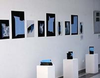 Blue folding model / Niebieski model do składania
