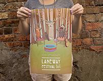 Laneway Festival Poster Design