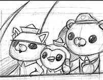 Storyboard The Octonauts
