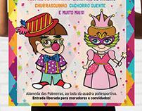 Design Gráfico - Baile de Carnaval