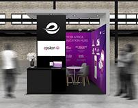 Epsilon Telecom: AfricaCom Booth Design
