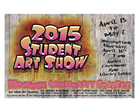 2015 Student Art Show Ad