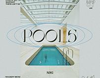 """POOLS by NIKI"" SINGLE ART CONCEPT"