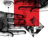 Afiche promocional taller Violencia de género