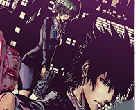 Psycho-Pass color