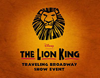 Lion King Traveling Broadway Show Event